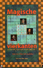 "Front cover of the book ""Van Lo Shu tot Sudoku"""